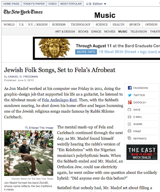 Zion80 New York Times