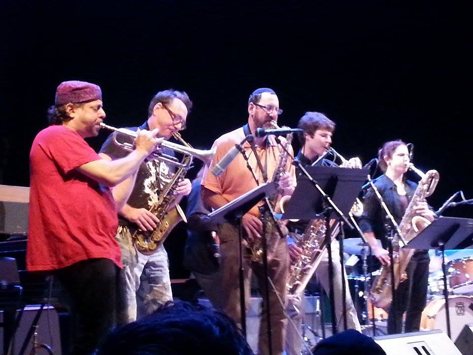 John Zorn with the Zion80 Horns